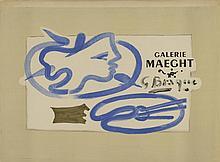 D'après Georges BRAQUE - Le peintre à la palette...