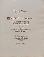 Louis ICART - Henri de RÉGNIER - Contes à soi-même...