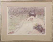 LOUIS MARIE JOSEPH RIDEL (1866 Vannes/Morbihan-1937 Paris)