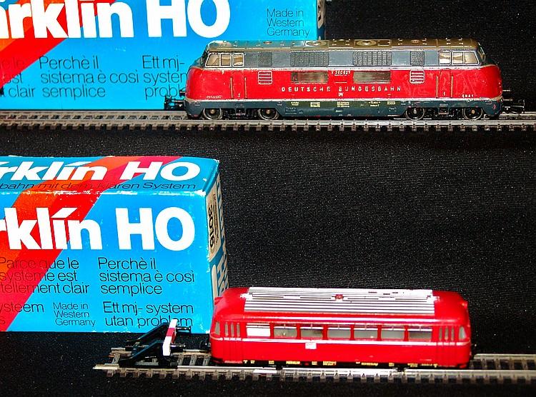 A 1970s/80s Märklin HO diesel loco 3016, boxed;