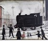 *AR LAWRENCE STEPHEN LOWRY (1887-1976) British The Level Crossing Limited edition print Signed in pencil to margin, published by Patrick Seale Prints Ltd, London 56 x 46 cm, framed and glazed, L.S. Lowry, £1,000