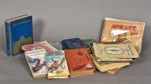 A large collection of children's books Alice's Adventures in Wonderland, il