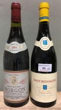 Bourgogne Pinot-Noir, 2003 Single bottle; together with Morgon, 1995, singl