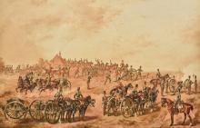 Attributed to REGINALD AUGUSTUS WYMER (1849-1935) British Royal Artillery M