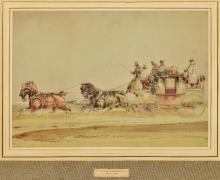 CHARLES COOPER HENDERSON (1803-1877) British The Yeovil Express Royal Mail