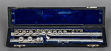 A 1932 WMS Haynes Co of Boston, Massachusetts Special Model silver flute Of