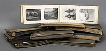 A quantity of early 20th century photography albums Comprising: early films