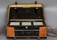 A Victorian leather stationery box by Needs & Co. (late Bramah), Piccadilly