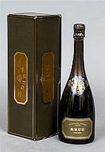 Krug Vintage Champagne 1979 Single bottle, boxed.
