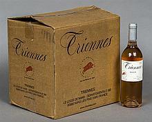 Triennes Rose 2010 Twelve bottles, cased. (12)