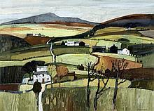 *AR MOIRA HUNTLEY (born 1932) British Cumbrian Landscape Watercolour and go