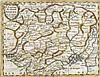 NICHOLAS SANSON (1600-1667) French L'Empire du Grand Mogol Coloured engravi, Nicholas  Sanson, £50