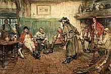 ARTHUR DAVID McCORMICK (1860-1943) British Travellers Tale Watercolour  Sig