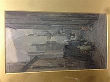 ARTHUR REGINALD SMITH (1871-1934) British Hamilton's Entry, Edinburgh Water