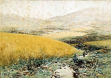 ANDREW KELLOCK BROWN (1849-1922) British Landscape Watercolour  Signed with