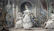 EDWARD FRANCIS BURNEY (1760-1848) British A Fashionable Party at a Private