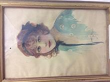 DOROTHY MORGAN (flourished 1900-1930) British Portrait of a Fashionable You