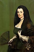 *AR TOM KEATING (1917-1984) British, after DIEGO VELAZQUEZ (1599-1660) Span