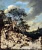 Manner of JACOB VAN RUISDAEL (1628-1682) Dutch Mill and Waterfall Oil on pa, Jacob van Ruisdael, £100