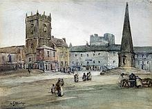ANNE S MARTYN (exhibited 1900-1914) British Richmond, Yorks. Watercolour Si
