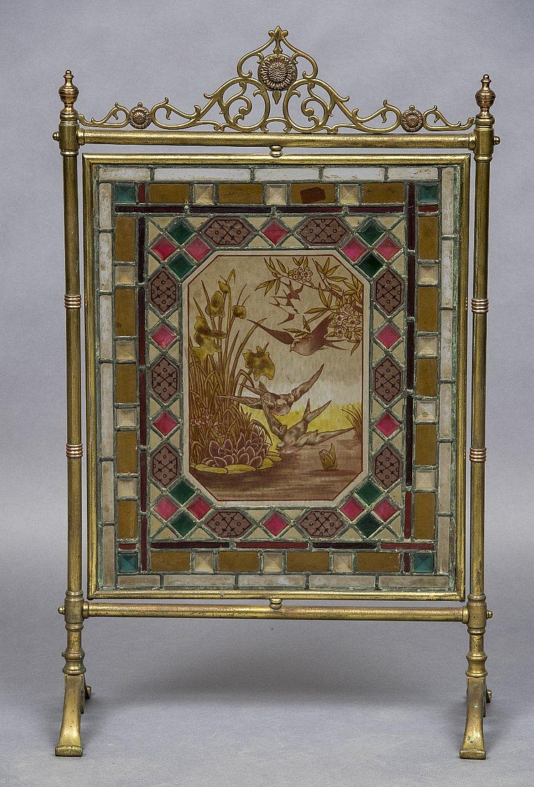 how to clean stained brass
