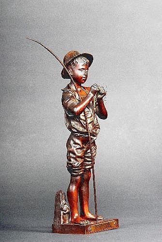 ADOLPHE JEAN LAVERGNE (1860-1892) French Charmeur