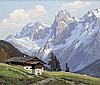 PETER GRABWINKLER (1845-1943) Austrian Alpine Land, Peter Grabwinkler, Click for value