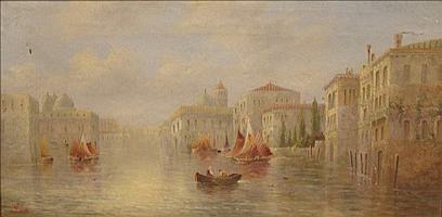JAMES SALT (1850-1903) British A Venetian
