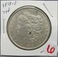 1878-P Morgan Dollar 7TF