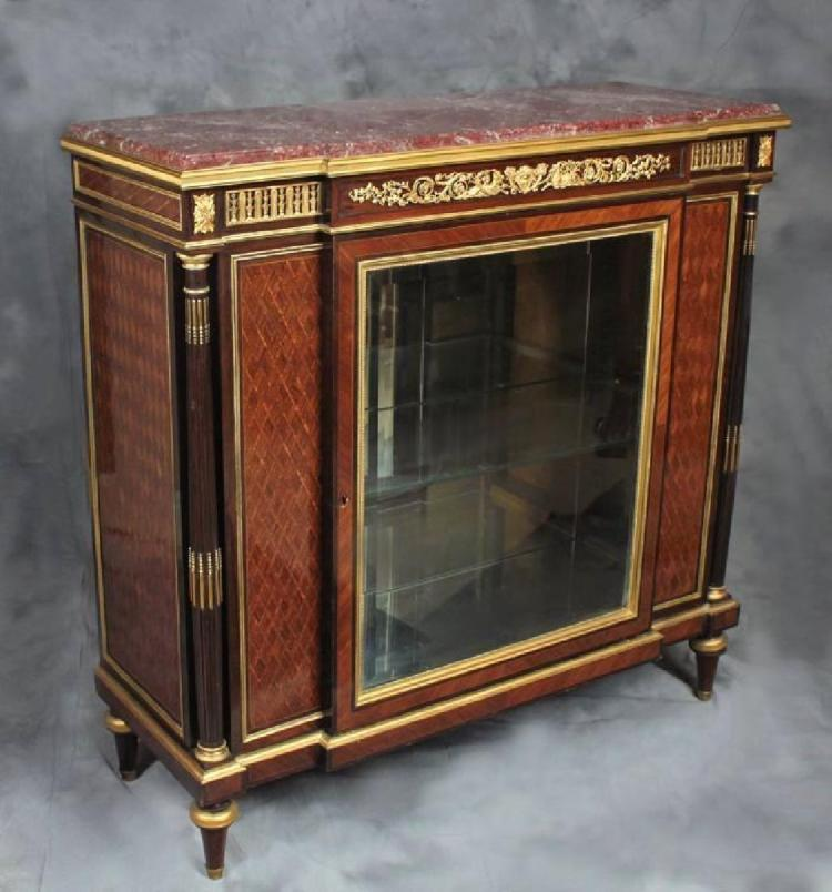 kitchen cabinets in india vitrine cabinet attributed to f linke 20565