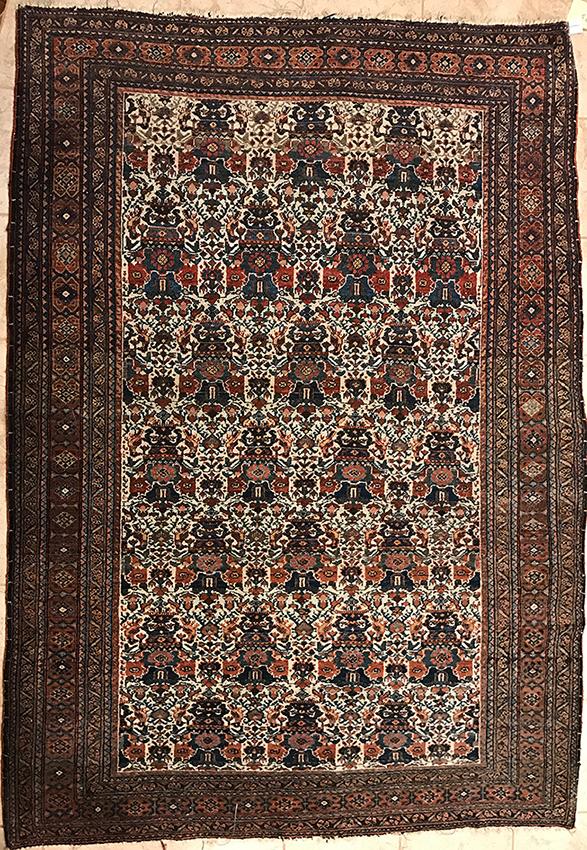 Persian Isfahan Rug. 83X56