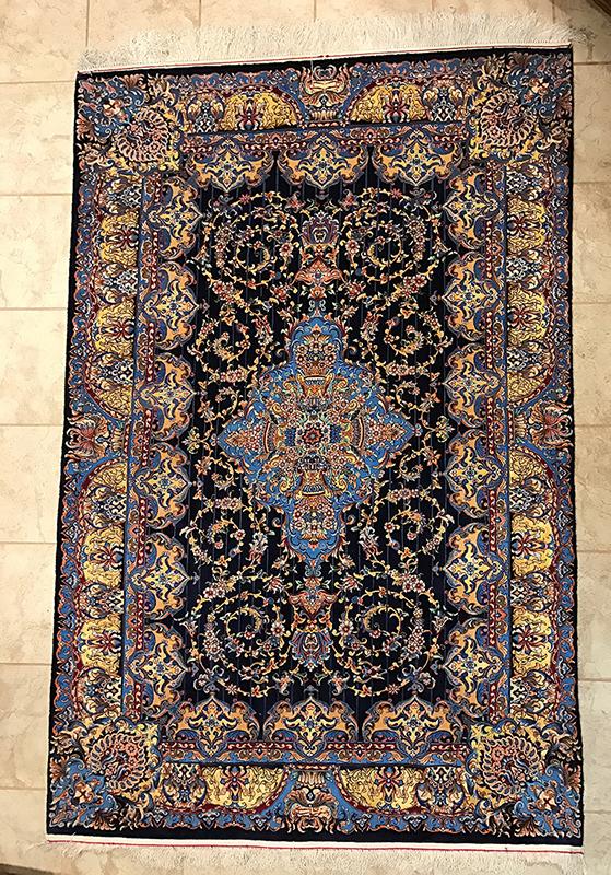 Persian Isfahan Rug.79X51
