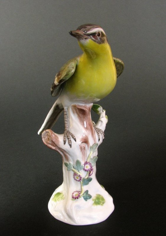 Meissen Porcelain Figure of Bird