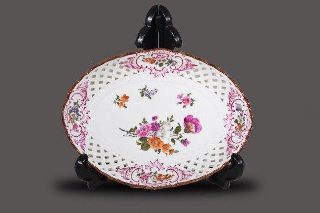Meissen Style Porcelain Plate