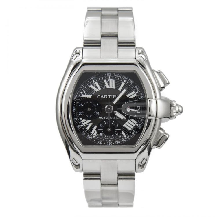 Cartier Roadster Watch Stainless Steel
