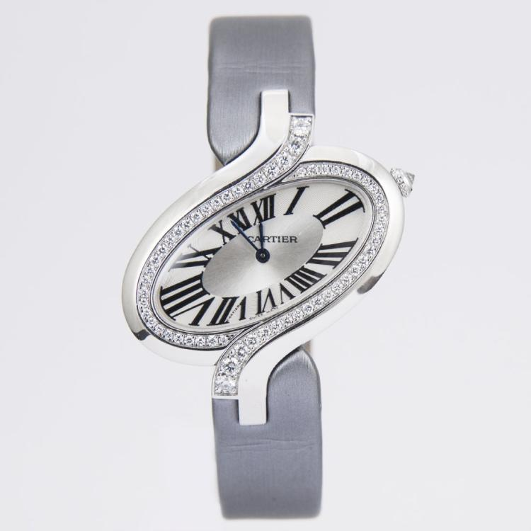 Unworn Cartier Délices de Cartier 18kt white gold