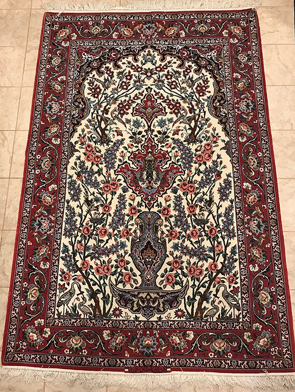 Persian Isfahan Silk Highlight Foundation Rug Edit