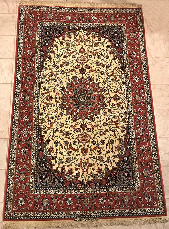 Persian Isfahan Silk Highlight Foundation Sairafian Rug Edit