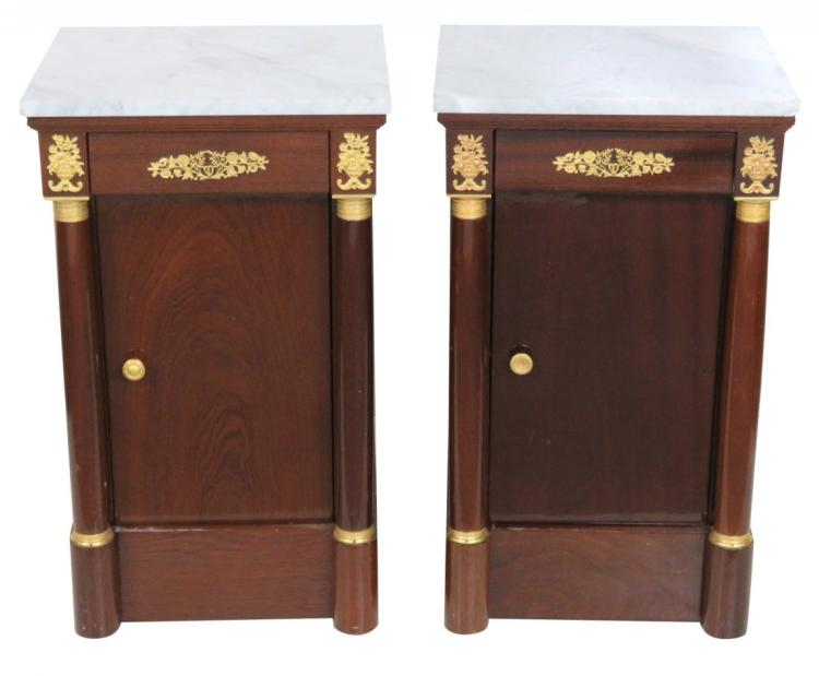 Pair of Empire Style Night Stands or Side Tables
