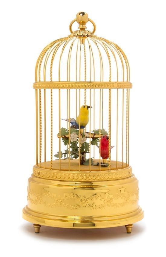 A Swiss Birdcage Automaton