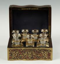 Boulle Decanter Set