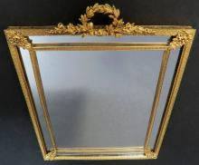 19th BRONZE Mirror Or Picture Frame