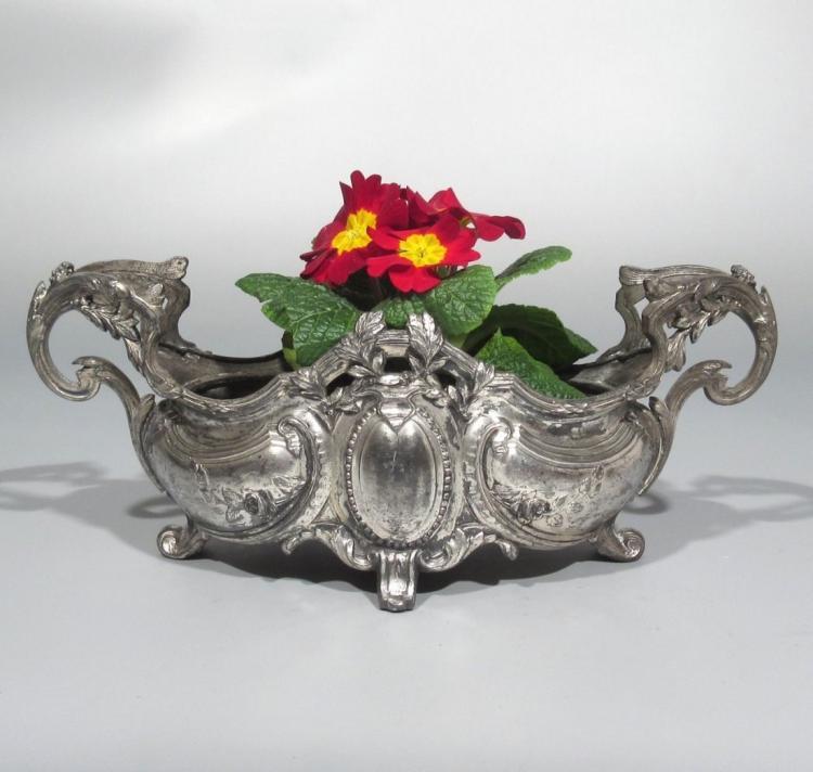 Antique French Art Nouveau Centerpiece / Jardinière