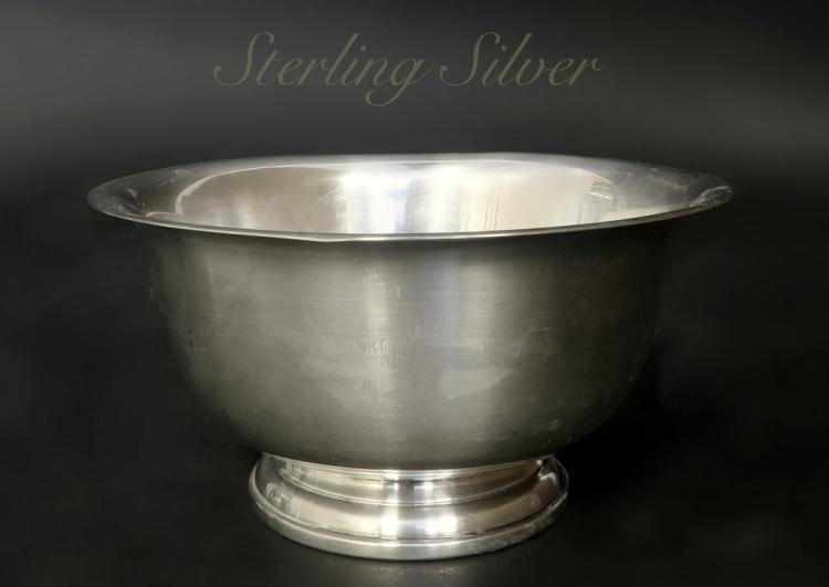 Paul Revere Sterling Silver Bowl