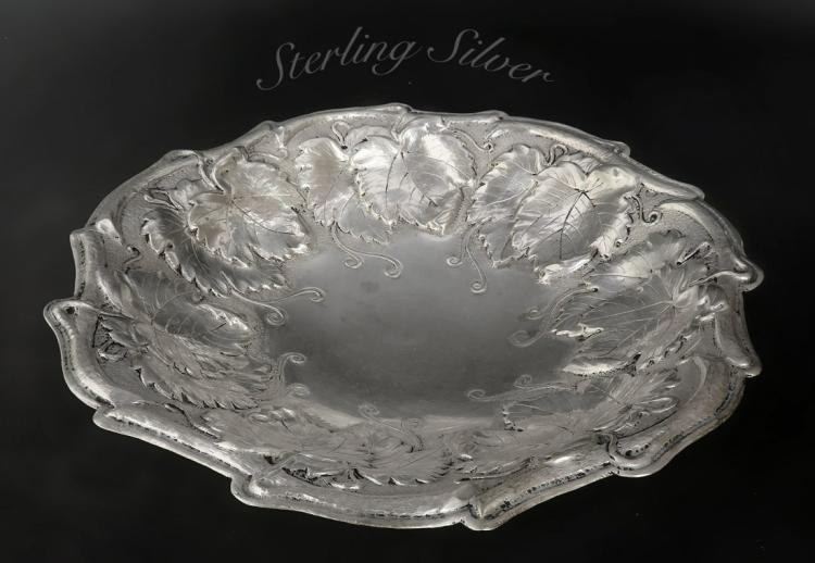 Magnificent Handmade 900 Silver CAndy Bowl
