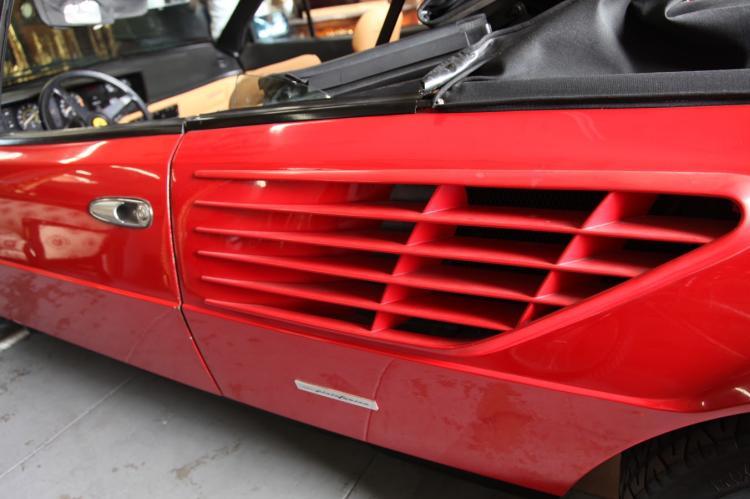 1984 ferrari mondial s convertible body. Black Bedroom Furniture Sets. Home Design Ideas