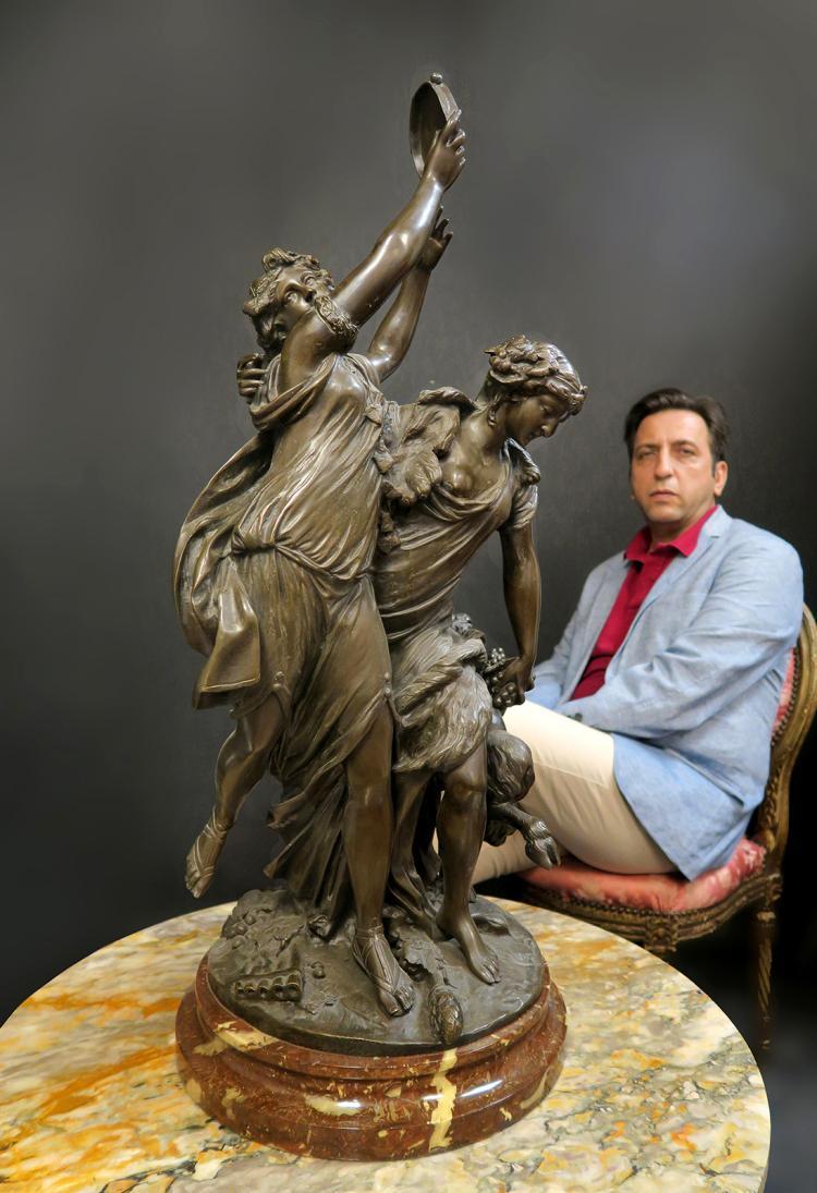 Bronze Sculpture - Rhinoceros - Statues