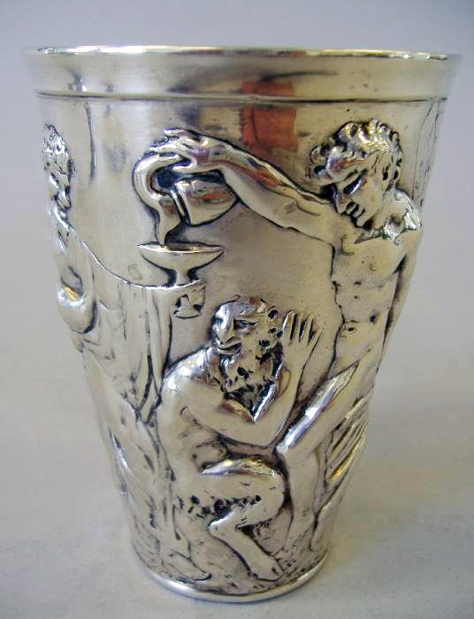 German silver beaker,