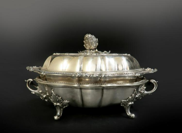 Very Fine Silver Plated 4 piece Warmer / Server Dishes
