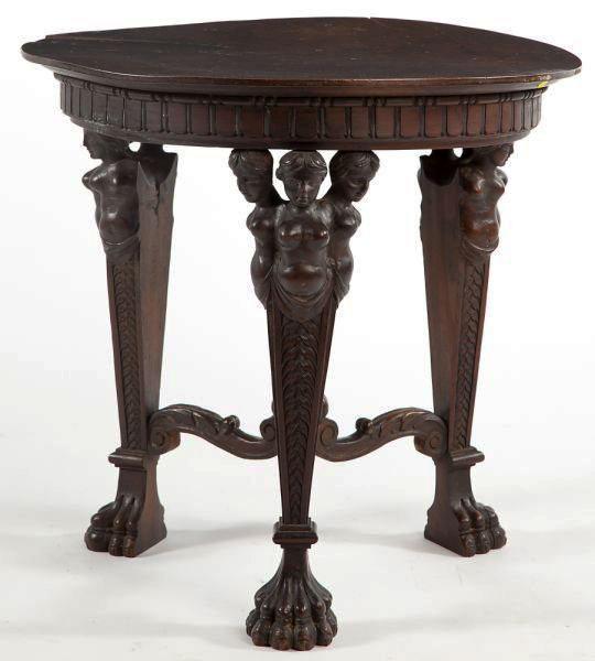 Neoclassical Circular Console Table, Circa 1800